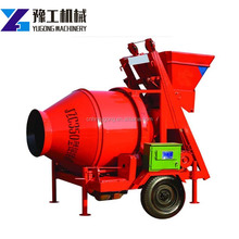 used mobile electric portable concrete mixer