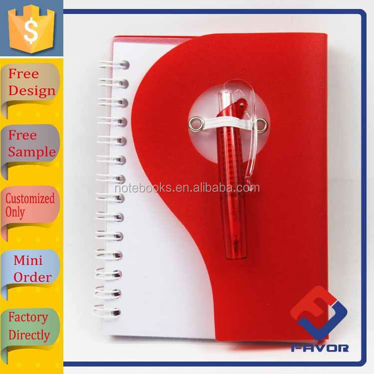 new arrival cheapest pp cover school stationary cute notebook