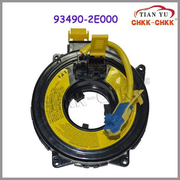 Auto car steering wheel Airbag 93490-2E000 93490-2H200 93490-3K600 spiral coil Clock Spring Sub-Assy for Japnese cars