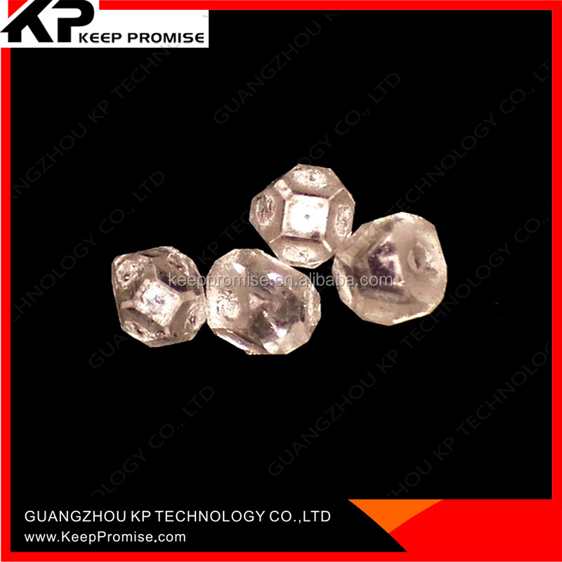 Rough HPHT White Synthetic Diamond / CVD diamond