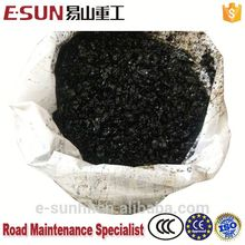 strong cold asphalt