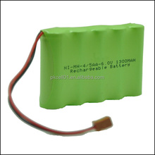 Hot Sale OEM NiMH Nicd battery pack ,rechargeable battery