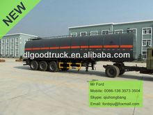 China carbon steel 40000-60000L 3 axles military trailer for sale 0086-13635733504