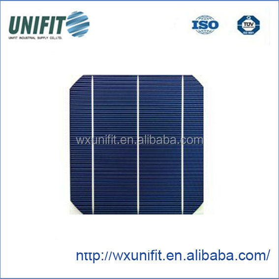 Unifit A/B grade good price 4.64w mono 156 mm 3BB solar cell