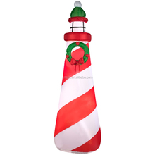 Inflatable Christmas light house for indoor decoration