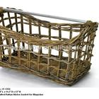 Well Crafted Rattan wicker Basket for magazine