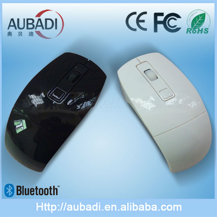 Cool and Cheap Wireless Bluetooth Arc Mouse for Promotion Gift