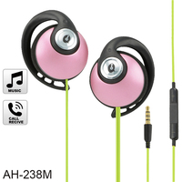 OEM own brand fancy sylish macaron pink color headphones