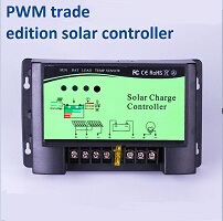 60A upgraded version pwm 12V/24V AUTO solar charge controller