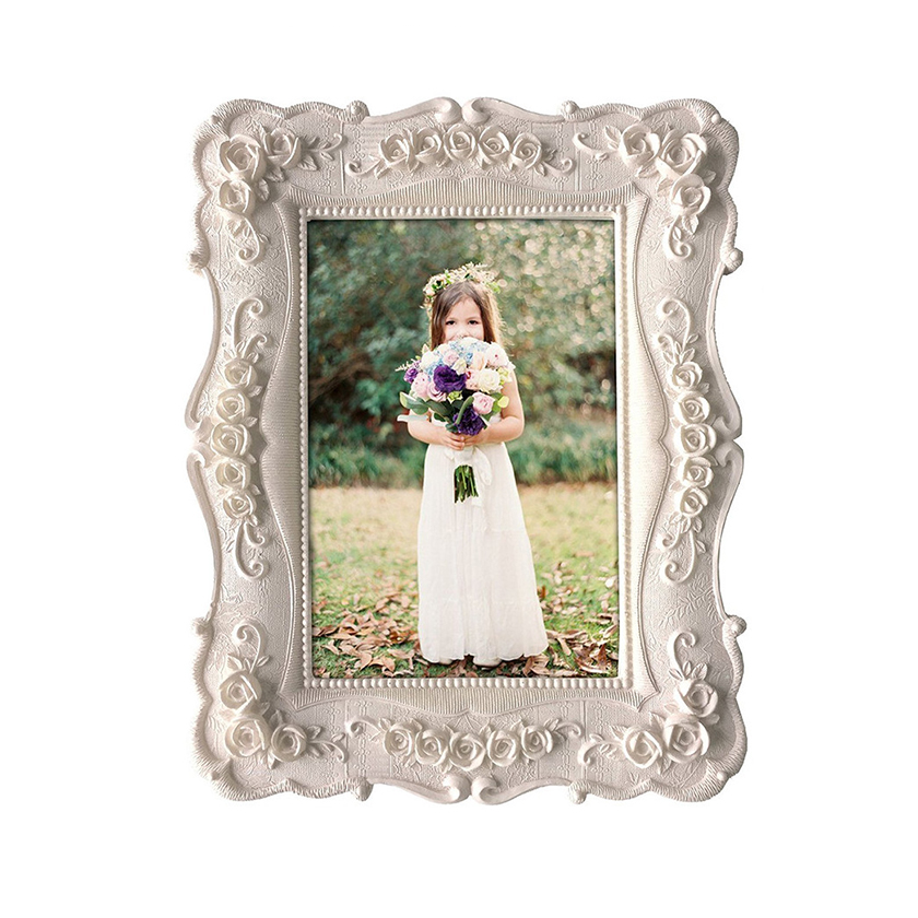 Resin Home white picture photo collage Frame sizes