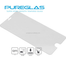 Pureglas 0.2mm Ultra Thin tempered glass film screen protector for iphone 6 / 6 plus Tempered Glass Film,2.5D round edge