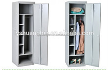 Cheap Single door Gym stainless steel clothes locker cabinet/Differential office compact one door laminate metal locker