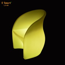 kindergarten furniture plastic chair plastic furniture with led light Patio Dining Chairs for outdoor garden event decoration