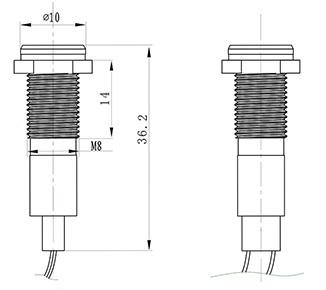 8mm Gas Fireplace Pilot Light Cost Panel Light Led Lamp Panel 12v Led Bulb 110v Rgb Led Car