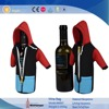 colorful single bottle neoprene wine bag