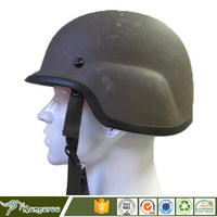 PE Bulletproof Helmet Ballistic performance to NIJ 0106.01 IIIA, stop 9mm FMJ bullets, 124 grain and.44magum,240 grain