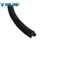 EPDM sealing strip for front windshield plastic sheeting and rainwater collector