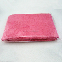 300gsm Top Quality Pink Car Ceaning Microfiber Cleaning Cloth