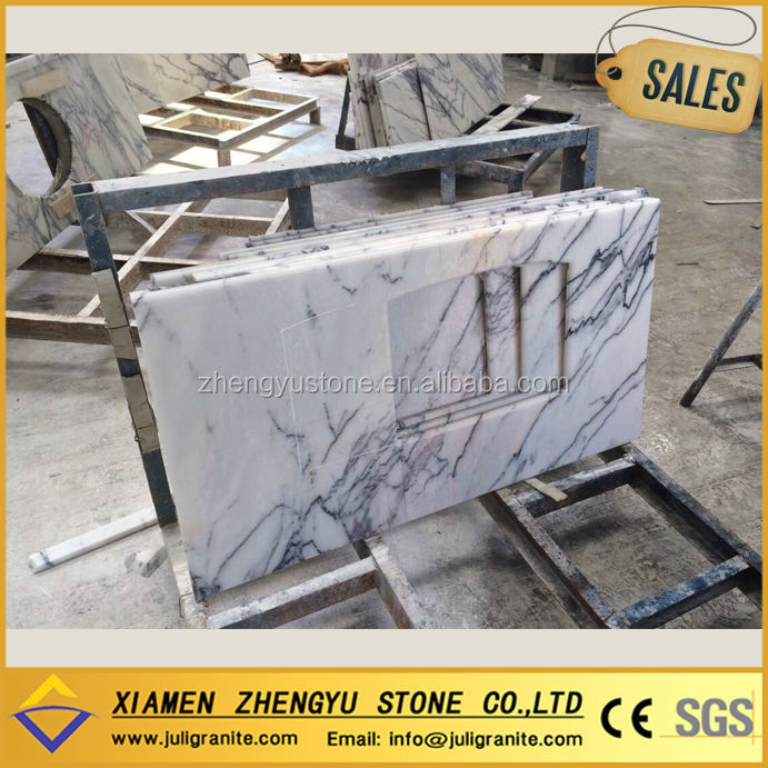 Natural Stone Ice Jade Marble Countertop