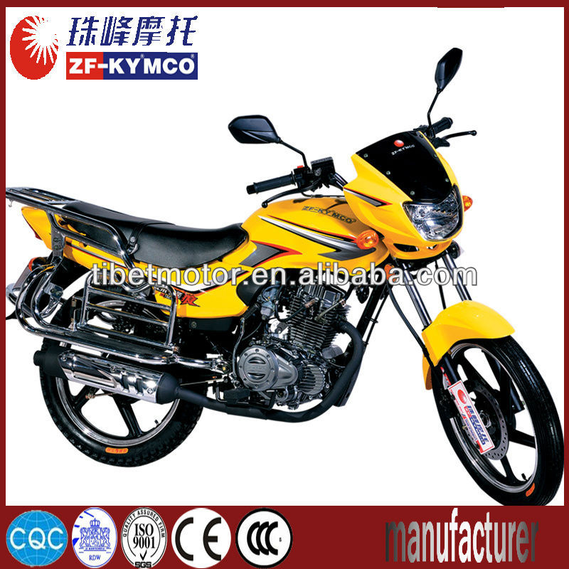 Comfortable racing motorcycle 150cc price on road(ZF125-2A)
