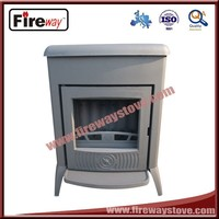 Cast iron material 14KW wood burning stove