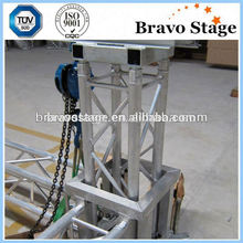 Ceiling lighting truss system/outdoor concert truss system