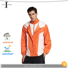 JUJIA-0940 100% polyester lightweight waterproof jacket