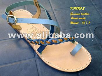 KOUROS Leather sandals