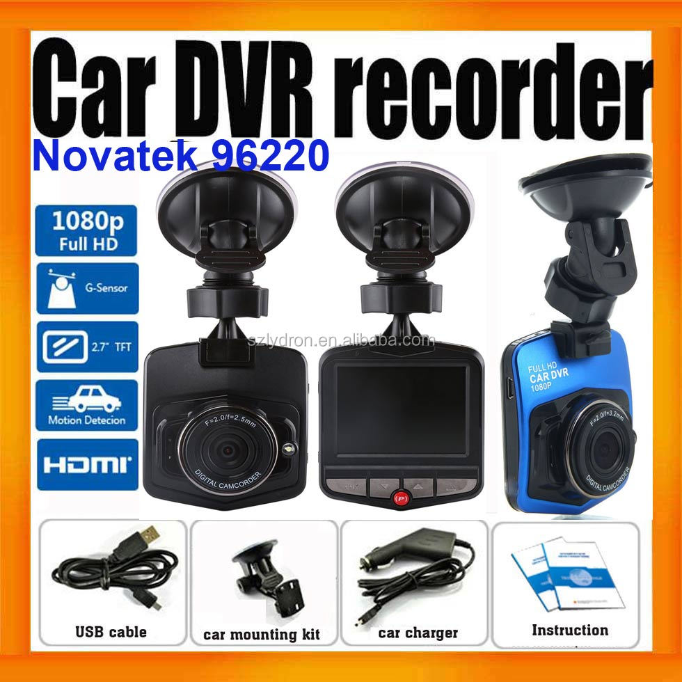 <strong>Best</strong> Quality 1080P HD Car Black box With Novatek 96220 HDMI output G-Sensor Night Vision