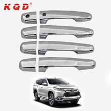 Auto accessories chrome door handle cover for 2016 Pajero Sport/Montero Sport