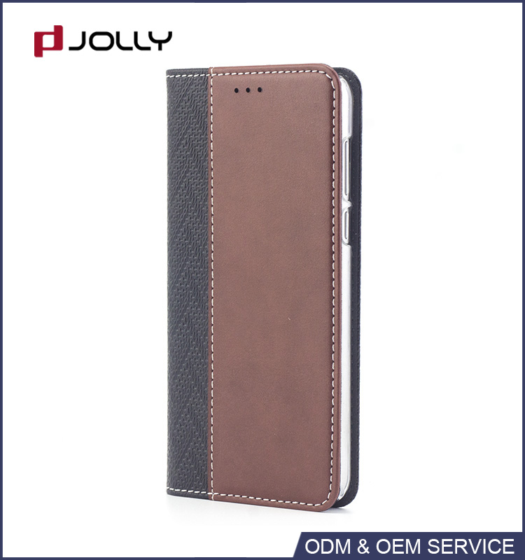 Phone case manufacturing book style pu case leather for cell phone