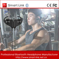 ultra light weight wireless stereo sport bluetooth headphone running with microphone for sport running