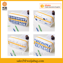 China wholesale canvas pencil case for kids