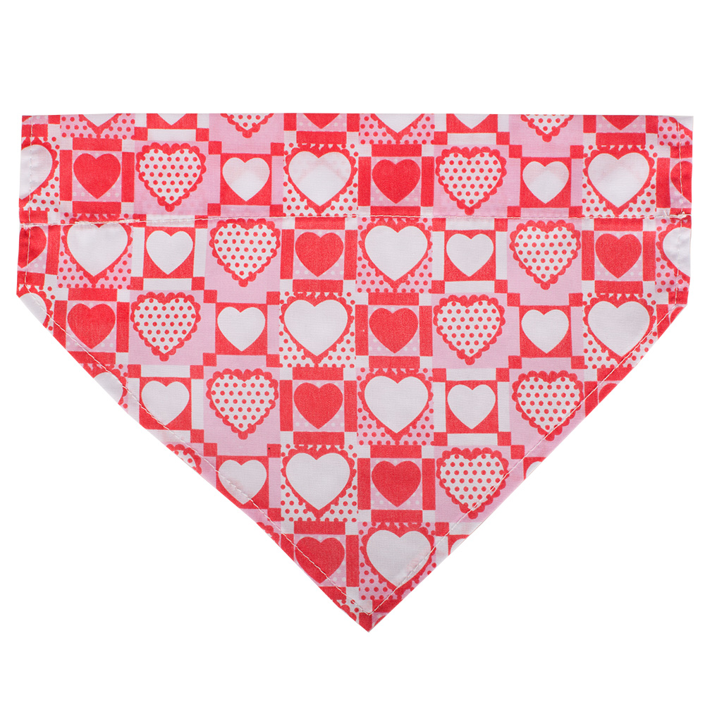 simple,elegant and cute custom printed triangle pet dog bandanas