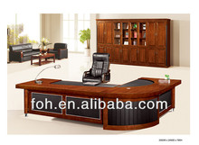 Luxury L shape wood MD table (FOHS-A3316)