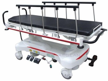 AG-HS007 Best price new type hospital hydraulic bed emergency patient transport stretcher