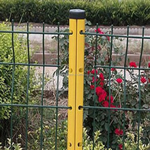 anping factory products garden fence plastic PVC fence removable garden fence