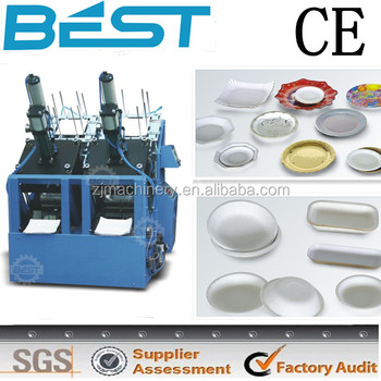 Customer Reliable high quality paper plate machine