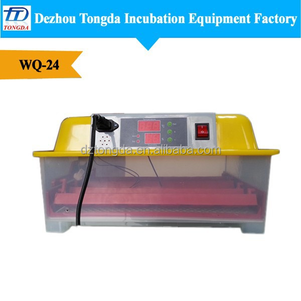 WQ-24 Professional electronic high rate egg incubator for sale in chennai