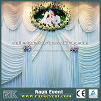 High quality pipe and drape systems for wedding tents