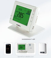 WIFI internet control wireless thermostat for home heating