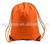 new design gym bag drawstring Solid color drawstring bag canvas high quality polyester drawstring bag