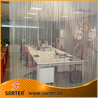 wholesale metal beads string office partition