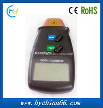 Handhold Laser digital Tachometer DT-2234C+ Engine RPM Tester with Data Storage Function