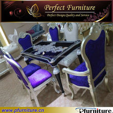 Glass dining table and chair PFS4035