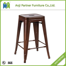 With customized color popular industrial metal bar stool chair(Phanfone)