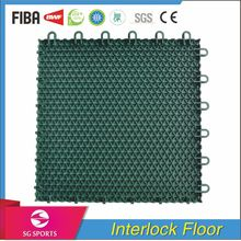 Anti-slip Safe Professional Plastic interlocking Tiles for Bathroom Flooring