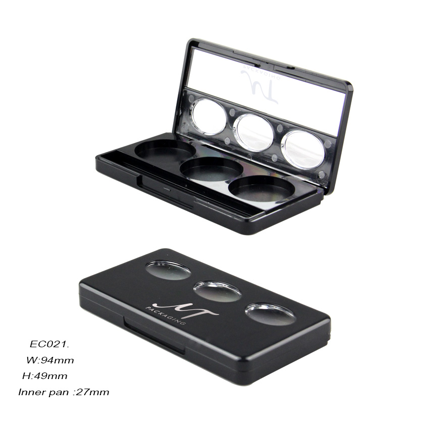 Cosmetic Plastic Eyeshadow Packaging Case