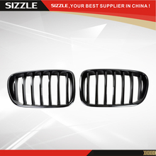 ABS Plastic Glossy Black Car Kidney Auto Front Grille Overlay Hood Air Intake Accessories For BMW x3 f25 2012-2015
