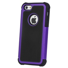 High Quality PC + Silicone Combo Case For iPhone 5S Hard Rugged Rubber Case